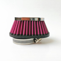 1 pcs 39mm 42mm 45mm 48mm 50mm 52mm 54mm Motorcycle Air Filter for CB750/SR400 Air Filters & Systems