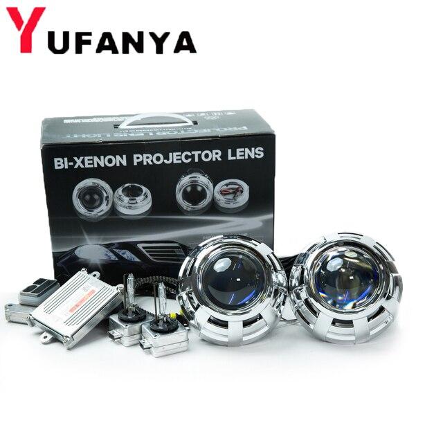 3,0 zoll auto styling bi xenon Projektor Objektiv blaue beschichtung hella 5 mit original D1S OEM xenon kit für auto scheinwerfer