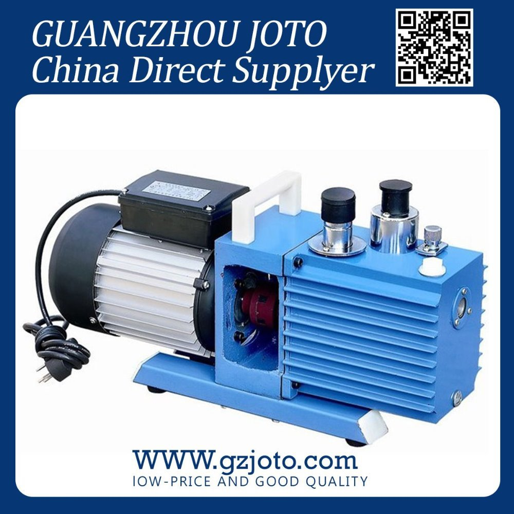 цена на 2XZ- 2 Two Stage Structure Mini Electric Rotary Vane Vacuum Pump China