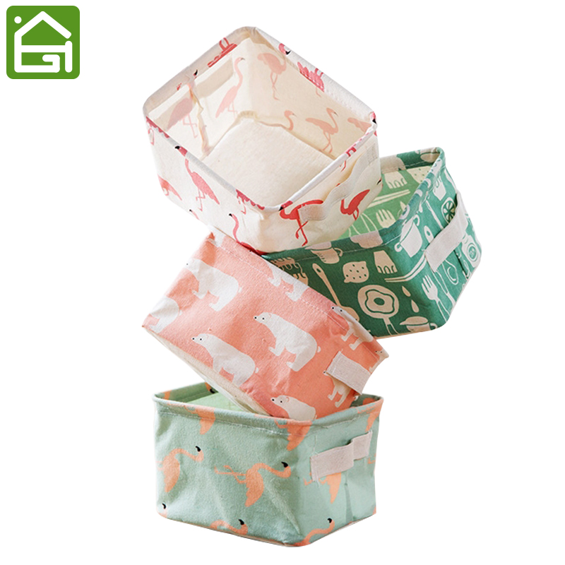 Cute Animal Collapsible Toy Storage Organizer Folding: Cute Canvas Storage Bins Waterproof Collapsible And