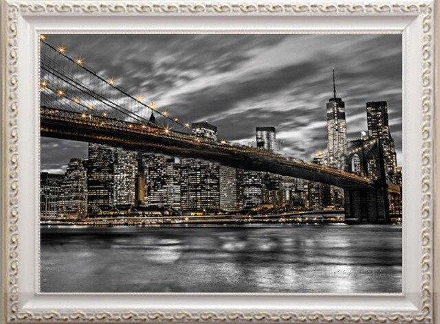 Вышивка крестом нью-йорке