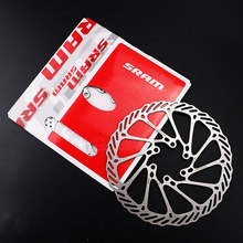 Original 2 Pieces 160mm 180mm MTB Road Bike Brake Rotor AVID HS1 &G3 Mountain Bicycle Brake Disc Rotor With 6 Screws 160mm 180mm(China)