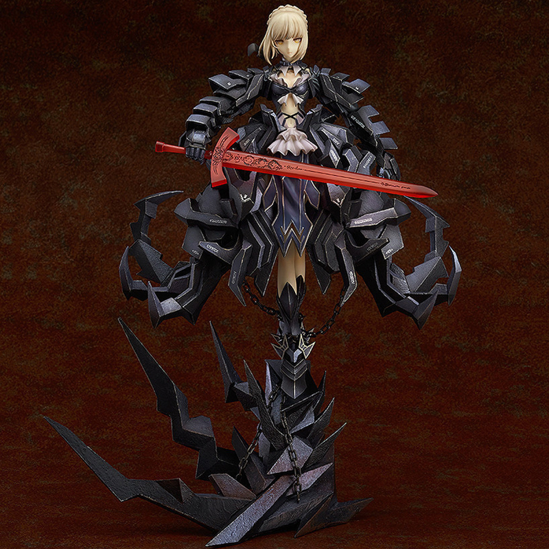 Japan Anime GSC Fate Stay Night Saber Alter Huke 33cm Saber Huke PVC Action Figure Anime
