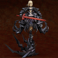 Japan Anime GSC Fate Stay Night Saber Alter Huke 33cm Saber Huke PVC Action Figure Anime Doll Model Toys Gift