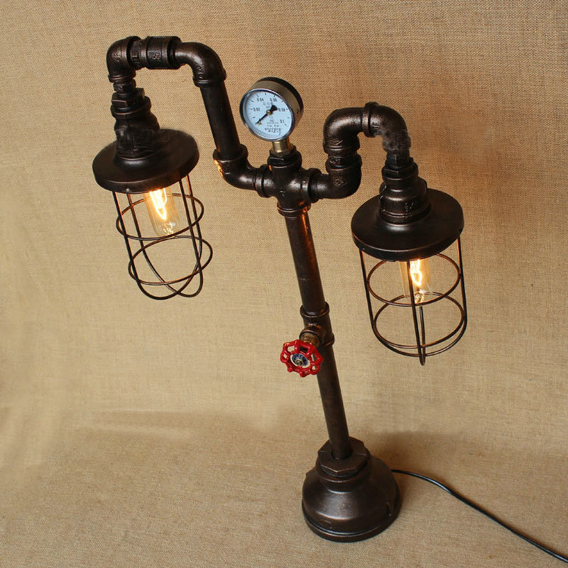Water Pipe Table Lamps 14
