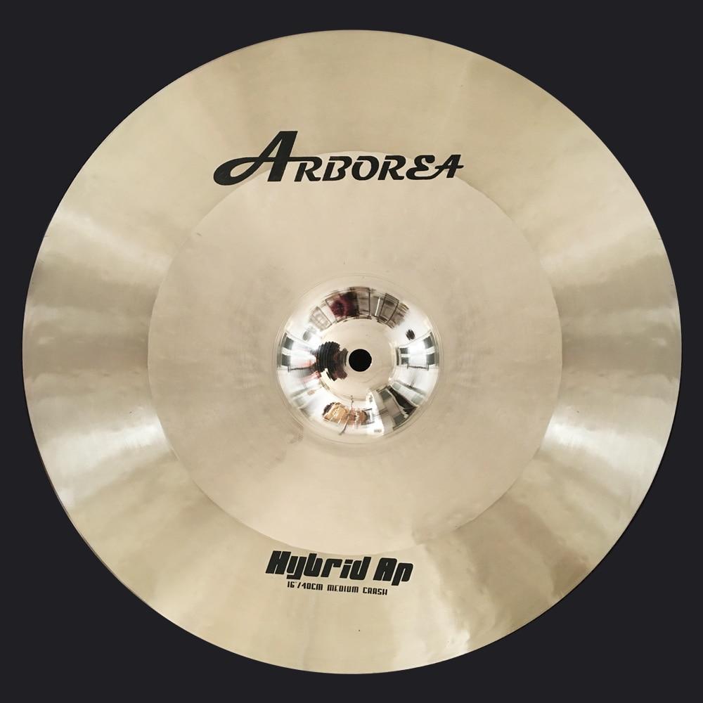 ARBOREA Supplier Offer Hybrid AP 16 Medium Crash handmade cymbal arborea hybrid ap 16m crash