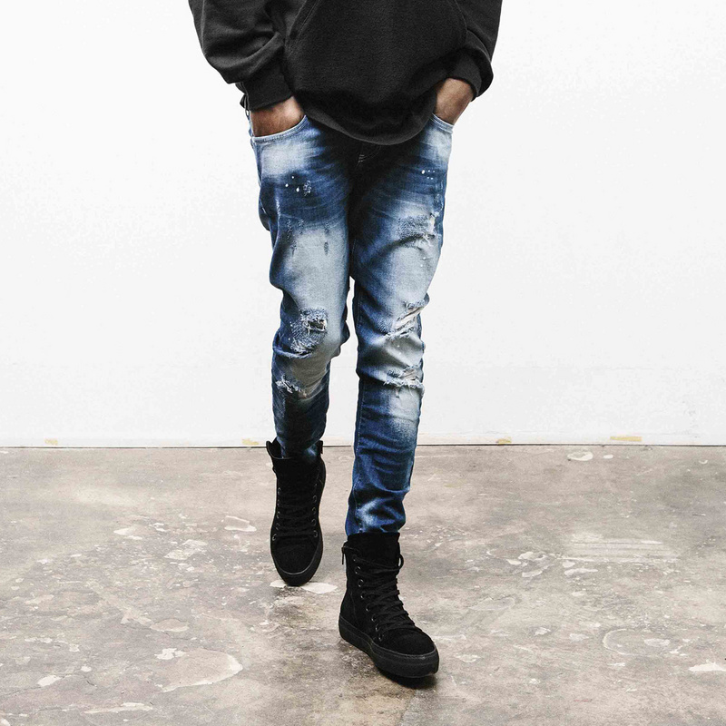 Compare Prices on Mens Ripped Biker Jeans- Online Shopping/Buy Low ...