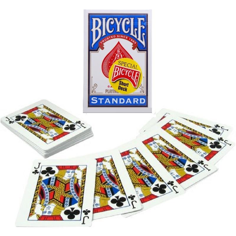 все цены на 1pcs Bicycle Svengali Deck Short Deck Magic Cards Atom Playing Card Poker Close Up Street Magic Tricks for Professional Magician онлайн
