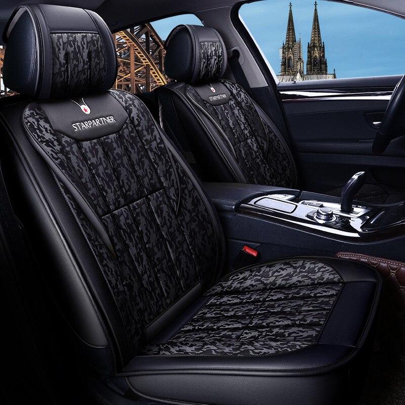 Car seasons universal seat cover covers auto accessories for BMW 5 Series E39 E60 E61 F07 F10 F11 F18 525 530d g30 g31 e34 2018