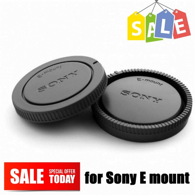 Camera Rear Lens Cap + Body Front Cover Kit for Sony E Mount NEX Nex-3 NEX-5/6/7 A7 A7r A7s A3000 A5000 a5100 A6000 a6300 a6500