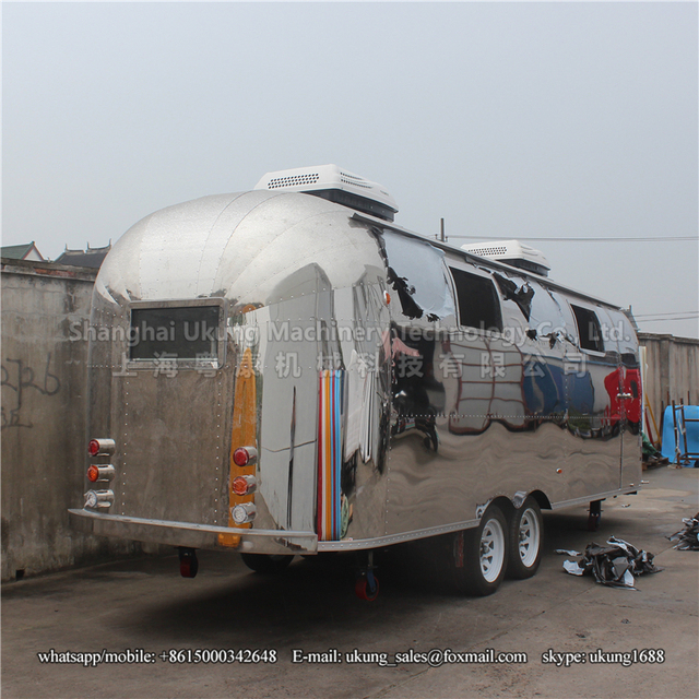 01e9e05971d Mobile Food Carts Mobile Stainless Steel Hot Dog Cart concession Trailer towable  Food Trailer For Sale