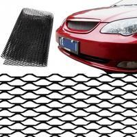 универсальный алюминиевый сплав автомобильный передний бампер сетка решетка гриль крышка автомобиля черный корпус решетка сетка
