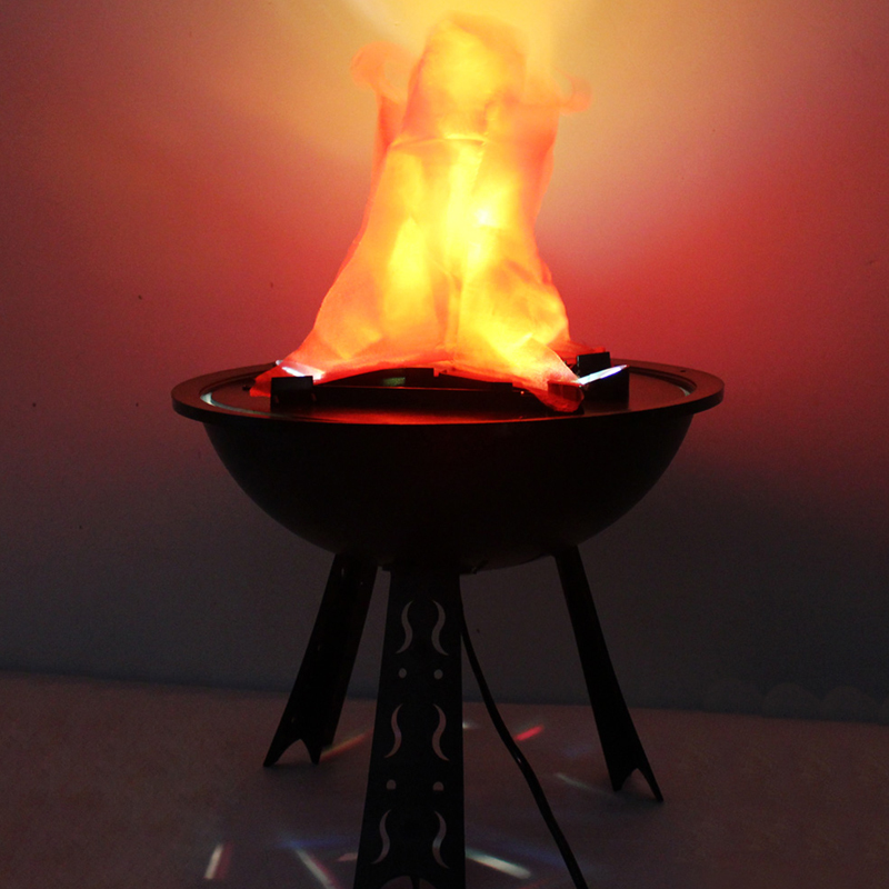 Table Top Flame Light Halloween Decoration for Party House ...