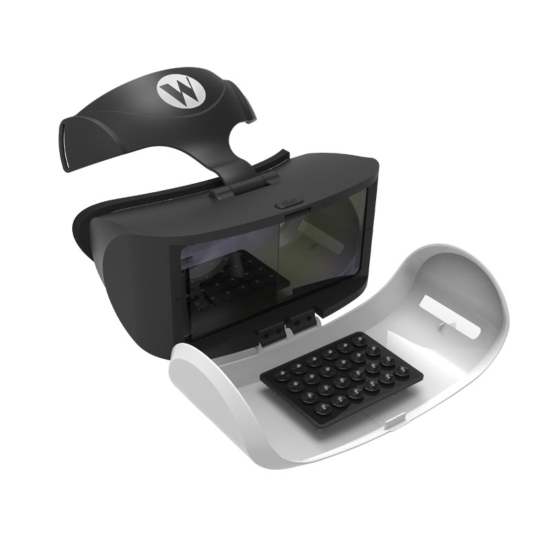 Winex vr realidad virtual google cartón xiaozhai bobo z4 gafas 3d caja 2 3 vr vr