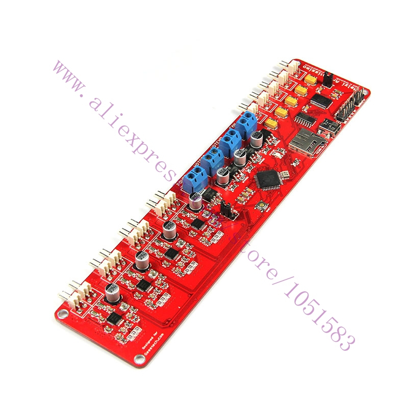 Original Melzi2.0 Ardentissimo Complete Reprap 3D Printer Print Controller Board ATMEGA1284P All-in-one for 3D Printer / RepRap flsun 3d printer big pulley kossel 3d printer with one roll filament sd card fast shipping