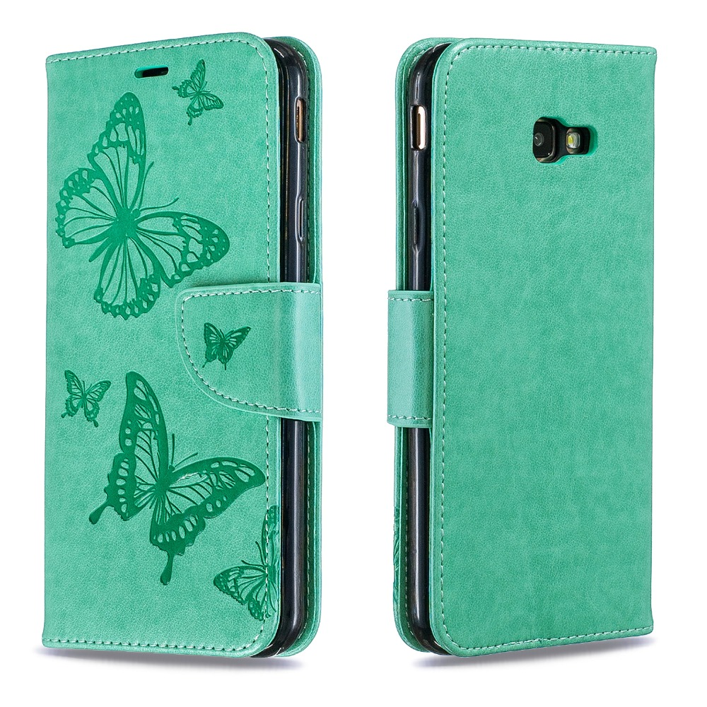 J4 Plus Leather Case on for Pouzdro Samsung Galaxy J4 J6 Prime Cover for Samsung J6 J4 Plus 2018 Wallet Flip Magnetic Phone Case