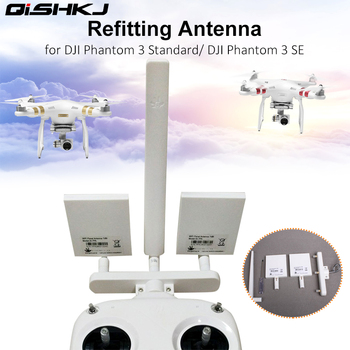 Phantom 3 Standard 3S 3SE Remote Controller Refitting Antenna WiFi Extender Signal Booster for dji  Phantom 3 Drone Accessory