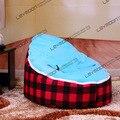 FRETE GRÁTIS feijão bebê tampa saco com 2 pcs céu azul para cima tampa do saco de feijão do bebê assento do bebê tampa de assento do saco de feijão do bebê cadeira