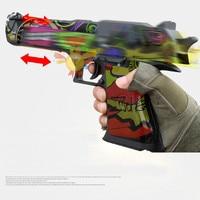 RX 617 Desert Eagle Gel Balls Blaster water toy gun Auto Mag fed Material nylon electric