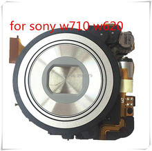 лучшая цена 10PCS/new Original zoom lens unit Without CCD Repair parts For Sony DSC-W620 W710 S5000 Digital camera
