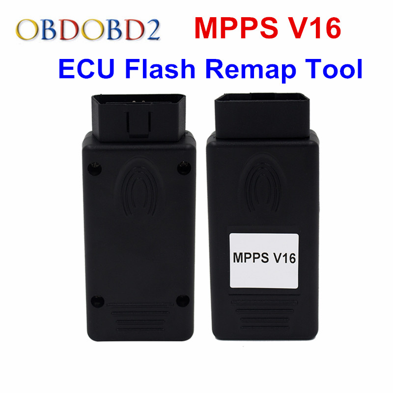 MPPS V16 ECU Chip Tuning Tool For EDC15 EDC16 EDC17 Inkl Checksum SMPS MPPS  16 Read/Write ECU Flasher Remap Cable Tool