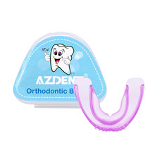 Orthodontic Braces Appliance Dental Braces Silicone Alignment Trainer Teeth Retainer Bruxism Mouth Duard Tooth Tray(China)