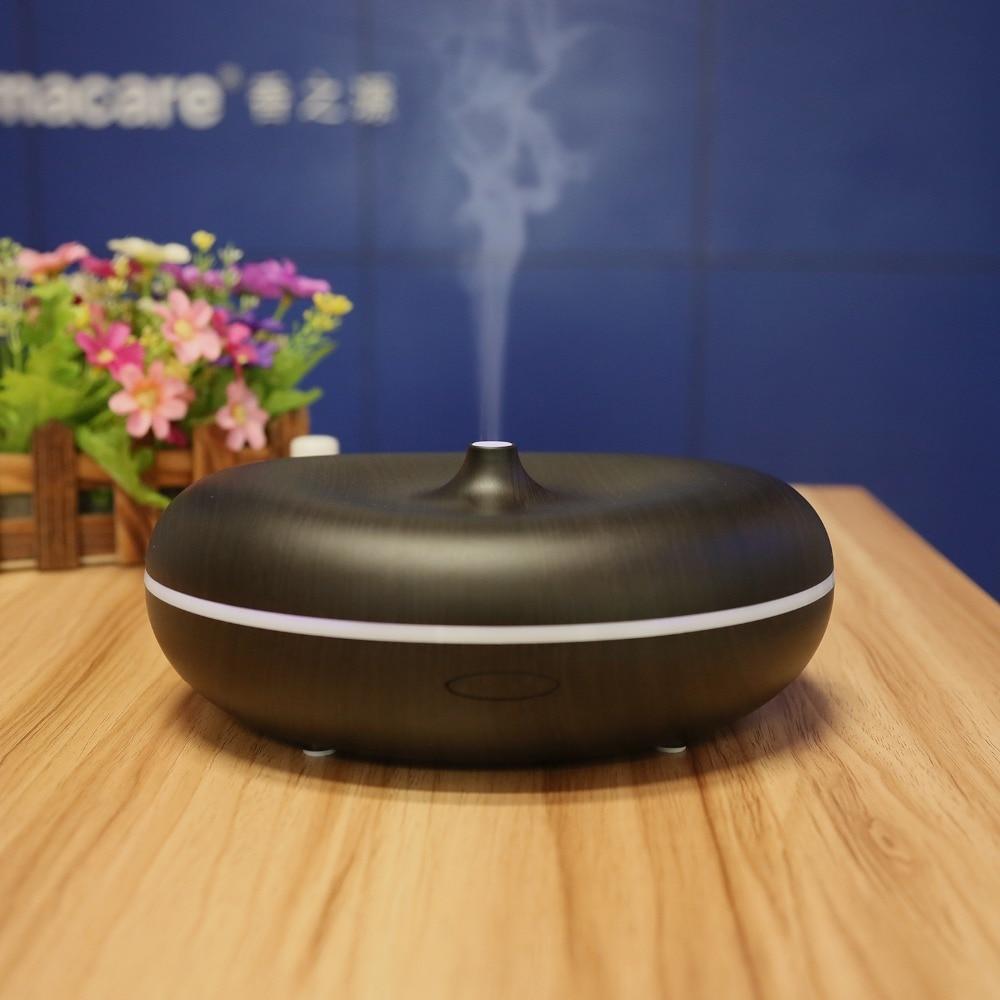 Aromacare 400ml barvit spreminjajoč se lahki lesnozrnati vlažilnik - Gospodinjski aparati - Fotografija 2