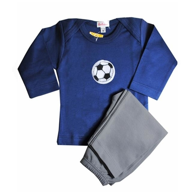 Loralin Design BNS12 Soccer Outfit – Blue 12-18 Months