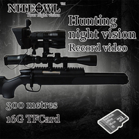 NITEOWL X 1 Digital hunting patented night vision Video recording function Two camera video 200 metres distance