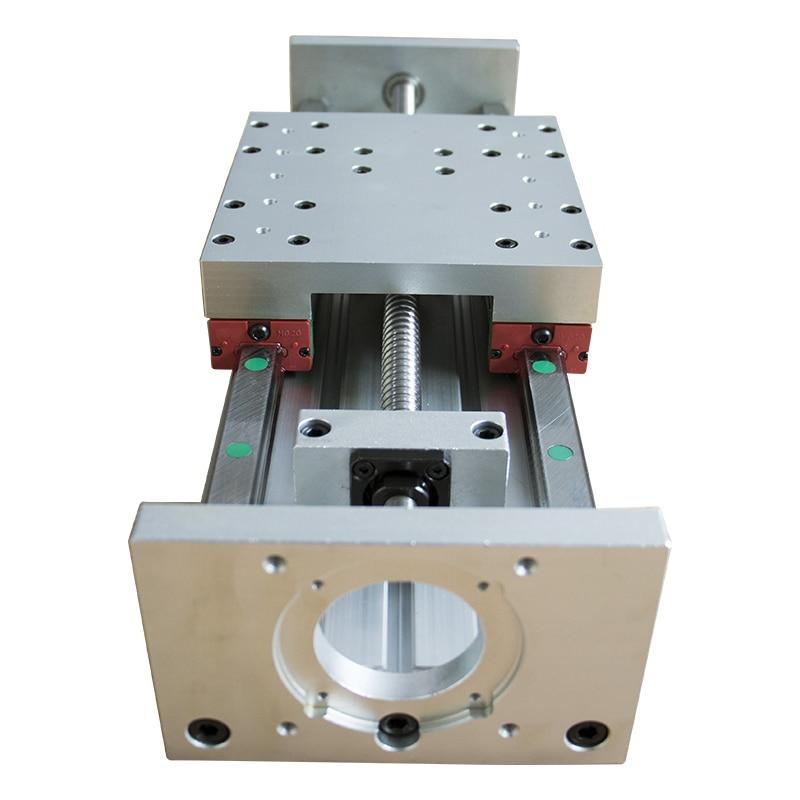 CNC HGR20 SFU1605 Ballscrew Linear Slide HGH20CA Stroke 300mm Stage Actuator For Nema 23 34 Stepper Motor XYZ Axis Linear Motion