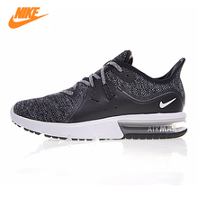 NIKE AIR MAX SEQUENT 3 Men's Cushion Running Shoes ,Dark Grey /Gray ,Absorption Slip Wearable Breathable 921694-011 921694-008