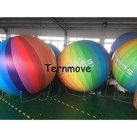 Гелиевый шар ПВХ события вечерние поставки Классические игрушки печатный логотип «сделай сам» мяч юбилей украшения гигантский диаметр 2 2,5