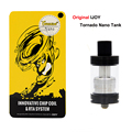 Original IJOY Tornado Nano RTA Tank 4ML 0.3oHm Chip Coil RTA Atomizer with 18.6mm Two Post Deck Electronic Cigarette
