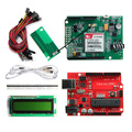 Geeetech GSM SIM900 GPRS Shield Development Board with Iduino UNO R3 +LCD1602 module ect kits