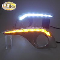 Only For Russian LED Daytime Running Light LED DRL For Toyota Highlander 2012 Free Shipping