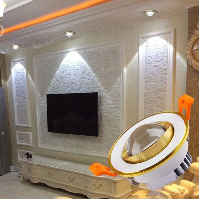 5pcs/lot ED Recessed Downlight 85 265V LED Ceiling Fixture Interior ...