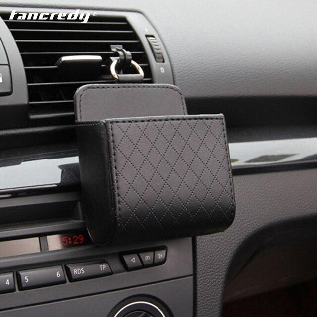 Truck Interior Accessories >> Pu Leather Car Organizer Storage Box Truck Interior Accessories Auto