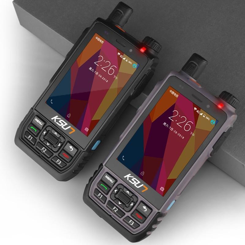 KSXAL1 4G WCDMA,CDMA,GSM Visualization Intercom Positioning Walkie Talkie Mobile Phone