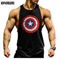 Musculation! 2017 clothing vest musculação e fitness homens undershirt tops tops golds undershirt homens xxl mundo de agradecimento