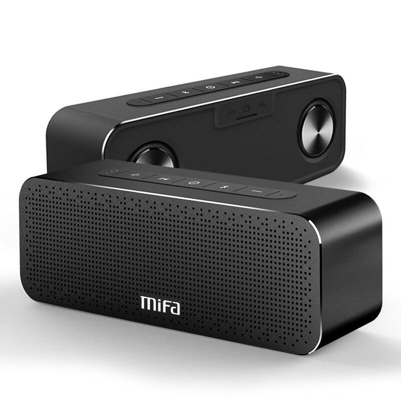 MIFA A20 sans fil Portable en métal Bluetooth haut-parleur avec mains libres TWS MIC étanche haut-parleur extérieur 30 W puissance avec haut-parleur de basse - 4