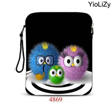 print pill case 10.1 9.7 inch pocket book bag laptop computer protecting Case sleeve Common Cowl pouch For ipad 2 case IP-4869