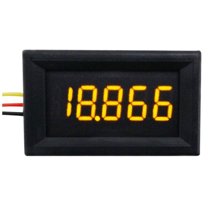 LIXF-RD 0.36 inch DC0-33V 3 wires Digital Voltmeter 5 Bit display YELLOW 2500pcs zmm33v ll 34 zmm 33v 1 2w 1206 33v 0 5w smd