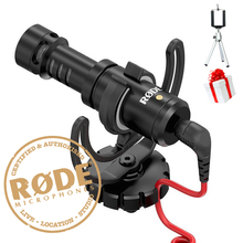 Ulanzi Rode VideoMicro Compact Camera Recording Microphone With Rycote Lyre Shock Moun for Camera DJI Osmo  SmartphoneVideo