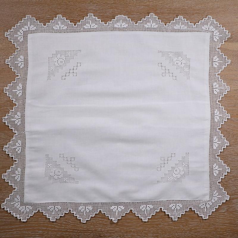 12 piezas 50*50 cm Europa Vintage bordado cojines cubierta