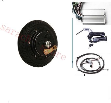 Motor de cubo de rueda eléctrica de freno de tambor de 350