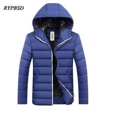 Hot Sale New Winter Jacket Parkas Men Fashion Casual Velvet Warm Hooded Winter Jacket Men Parkas Coat Thick Padded Men