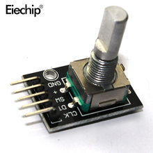 1 pcs Rotary Encoder Module Brick Sensor Development for arduino Dropshipping KY-040