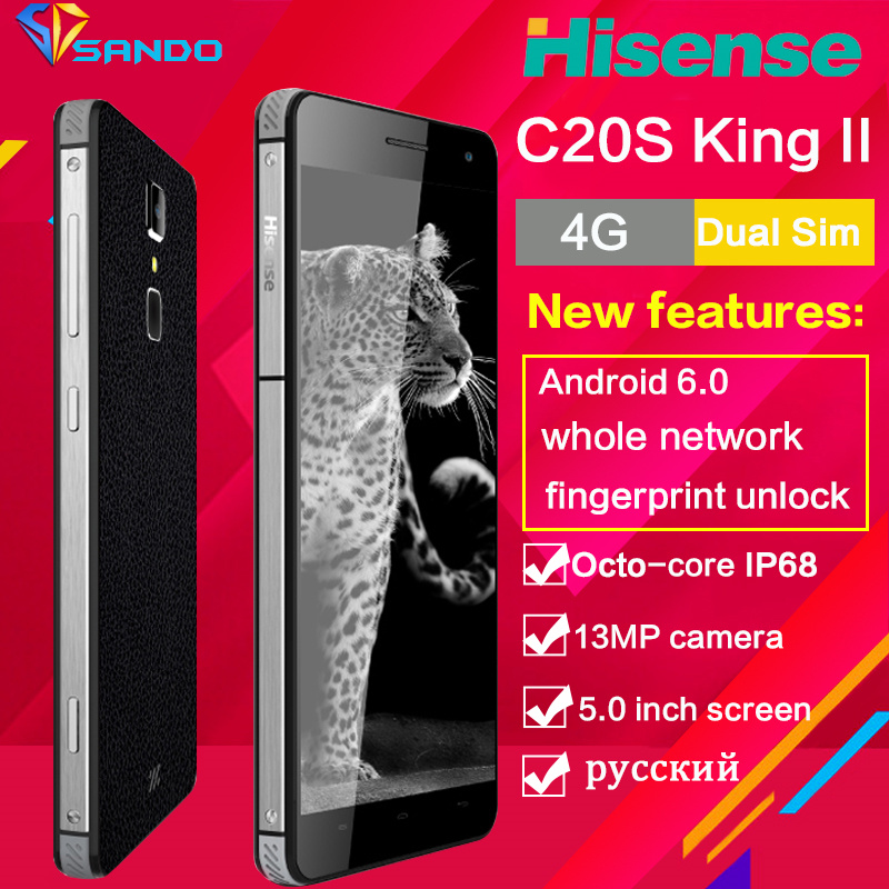 Hisense C20S IP67 Octa Core Waterproof Rugged Smartphone 5inch 13MP 3GB RAM 32GB ROM android Mobile