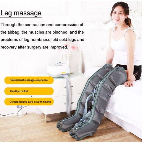 seis cavidade perna pneumatica massageador fisioterapia instrumento