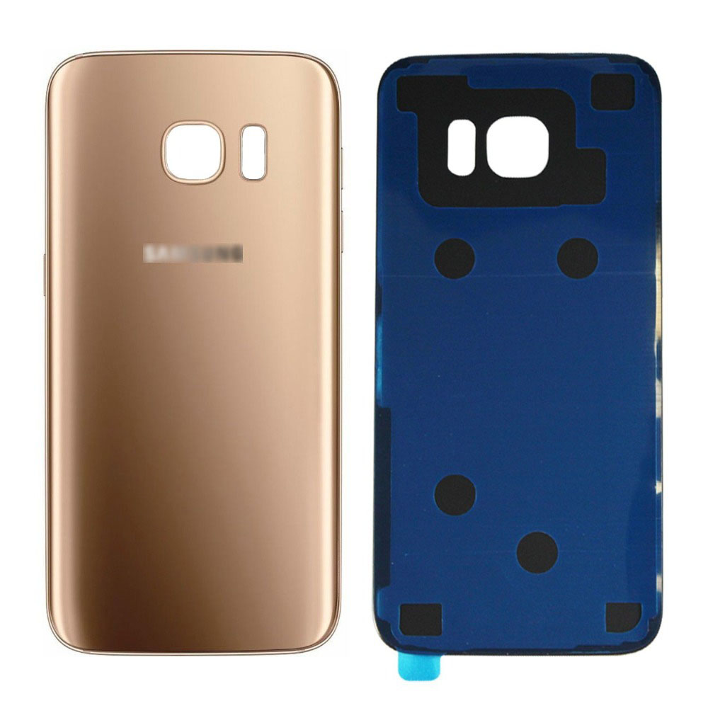 S7 Edge G935F Glass Housing Battery Back Cover Rear Door For Samsung S7 G930F Battery Cover +3M Sticker Glue